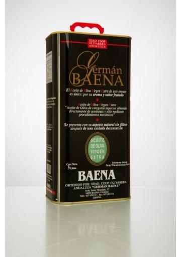 Germán Baena Lata de 5 litros (Sin filtrar) (caja 4 unid.)